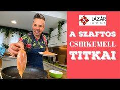 Kovács Lázár séf hiánypótló videót töltött fel, amiből mindenki megtanulhat csirkemellet sütni.