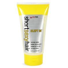 Sexy Hair Short Sexy Hair Slept In Texture Crème, 5.1 Ounce. #beauty, #skincare, #haircare, #care