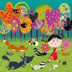 Corinne Bittler - professional children's illustrator