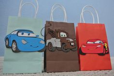 Lightning Mcqueen friends Goody Bags by GOODYBAGSBYKRIZIA, $19.00