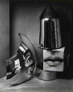 André Kertész ~ Oeil et levres,1970
