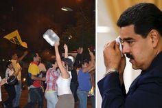 ¡LO ÚLTIMO! Reportan estruendoso cacerolazo en varias zonas de Caracas en rechazo a la dictadura - http://wp.me/p7GFvM-FyU