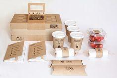 Take Away Food Packaging Design https://www.behance.net/gallery/Sunshine-picnic/2791261