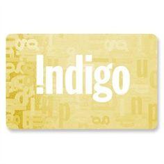 Chapters Indigo Gift Cards | chapters.indigo.ca books books books!