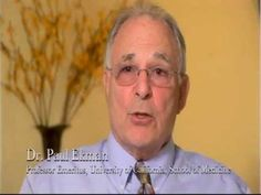 ▶ Dr. Paul Ekman on Expression and Gesture and Their Role in Emotion and Deception - Part 1 - YouTube