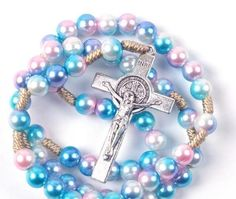 Whether you are looking for a baptism, first holy communion, confirmation, quinceanera, reconciliation, memorial, or just because gift, we have the perfect rosary for you! World Vision International, St Benedict Cross, English Alphabet Letters, Rosary Catholic, Just Because Gifts, First Holy Communion, No Name, Confirmation, Quinceanera