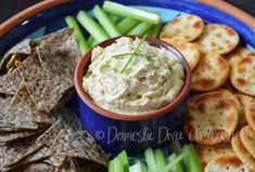 Domestic Diva: Caramelised Leek Dip with Philly Cheese or quark.
