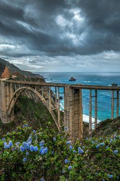 Bixby Blues / California  by: Darvin Atkeson