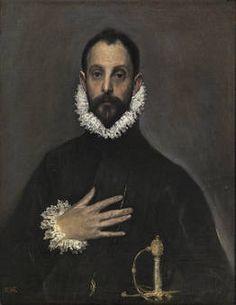 El caballero de la mano en el pecho. El Greco
