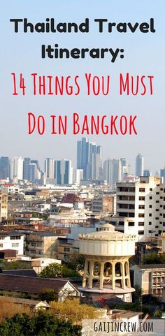 Thailand travel itinerary| things to do in Bangkok| Thailand travel| Thailand backpacking| Bangkok itinerary