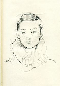 adarasanchez: Little drawing on my little sketchbook by Adara Sánchez Anguiano