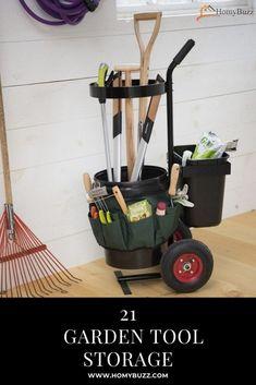 #homybuzz #gardentoolstorage #toolstorage #gardeningidea #homecedor