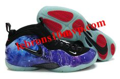 "Nike Air Foamposite Pro ""Galaxy"" Blue/Black/Red"