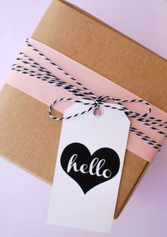 Everyday Gift Tags by Anna and Blue Paperie on Bird's Party Blog