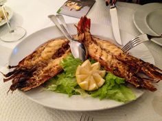 Lisbon, Portugal: Top 10 Things to Do - by Michaela S Guzy 05.05.2014 | Tiger prawns made like only the Portuguese can