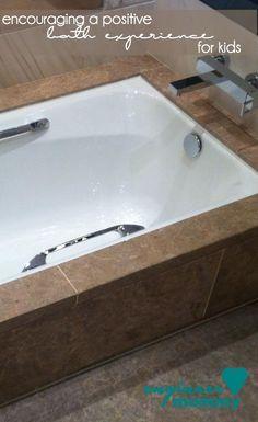 Tips for a Positive Bath Experience for Kids! #ad @SpongelleLLC #Spongelle @brandbacker