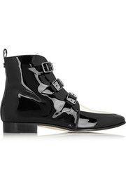 Jimmy ChooMarlin patent-leather ankle boots