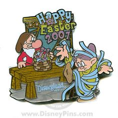 Grumpy & Dopey Pin - Easter 2007