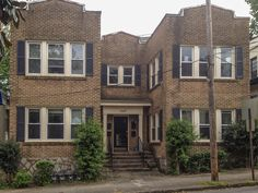 A fourplex is a medium-size Missing Middle housing type that consists of four units: typically two on the ground floor and two above with a shared entry.
