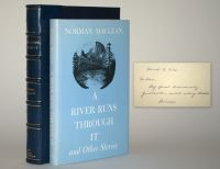 A River Runs Through It and Other Stories. First edition inscribed to his publisher