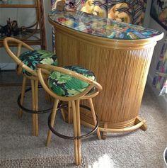 Tropical Furniture, Bassinet, Vogue, Bar, Chic, Table, Home Decor, Shabby Chic, Crib