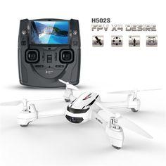 Original Hubsan X4 H502S  RC Drone with Camera 720P HD 5.8G FPV GPS Altitude RC Quadcopter One Key Return Headless Mode