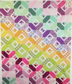 Stained Glass Quilt Pattern Download
