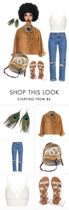 """Untitled #95"" by priscillay5 on Polyvore featuring Chicnova Fashion, Madewell, Bliss and Mischief, Chanel, Topshop and Billabong"