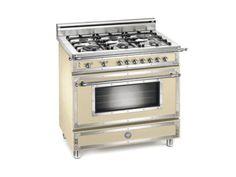 Matt-cream 36 Six-Burner Gas Range Model # H366GGVCR