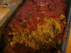 Puerto Rican meat loaf