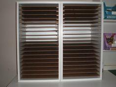 Paper Storage Shelving - Scrapbook.com