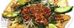 Tahu Petis - Gebakken tahu met tauge en een lekkere saus - Fried tofu with bean sprouts and a tasty sauce