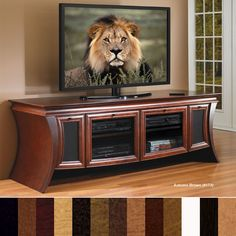 JSP Industries S-50-C Serenade Home Theater Credenza (Various Finishes)