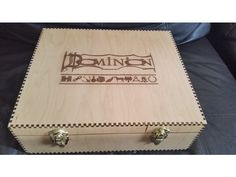 Dominion Storage Box (all expansions) by NACAM - Thingiverse