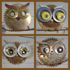 Recycled owls by Wonders In Wire