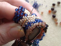 Freeform Peyote Beading 2 by Karen Williams — Kickstarter. Karen is a talented beader, writer and instructor. She's also a close friend of mine. Help her make her new book a reality!