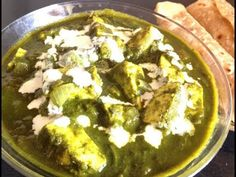 Home made Cottage Cheese in Spinach Gravy Recipe/palak paneer Healthy Baby Food, Healthy Meals For Kids, Kids Meals, Healthy Recipes, Food Website, Cottage Cheese, Palak Paneer, Baby Food Recipes, Gravy