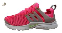 Nike presto BR (GS) running trainers 832251 sneakers shoes (US 6 BIG KID, hyper pink ghost green white 631) - Nike sneakers for women (*Amazon Partner-Link)