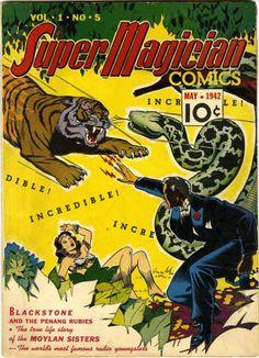 Super Magician Comics Vol.1 No.5, May 1942