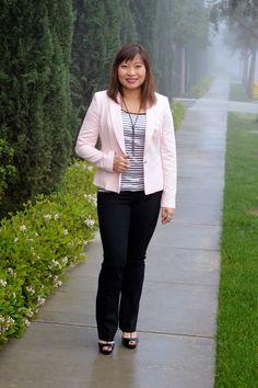 Throw Back Thursday Fashion Link Up: Blush Blazer