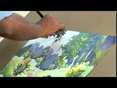 ▶ Water Colour Painting Demonstration - YouTube
