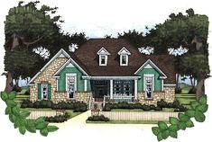 House Plan chp-25797 at COOLhouseplans.com