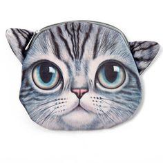 Harmaa Kissa Laukku | Cybershop