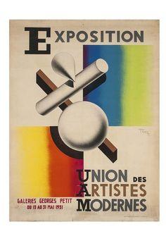 Jean Carlu , affichiste, 1931