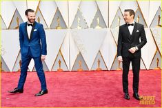 Chris Evans & Jeremy Renner at the 2017 Academy Awards
