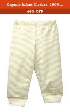 Organic Infant Clothes, 100% Cotton Baby Pajamas Pant, Extra Soft, Brown Stripes 6M. Product Description: 100% Cotton. GOTS Certified Organic Cotton. Pesticide-free, bleach-free & chemical-free. No chemicals used during dye. Cotton gets softer after 3 washes. Machine wash warm, tumble dry low. Model#: BMK003. Our organic infant clothes features stretchable soft pull-on pant, making dress & undress easy. Our baby pajamas are super soft, which is suitable for most baby's sensitive skin…