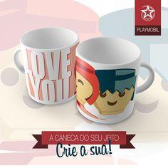 Série Anos 80. Veja mais em viallactea.com.br #mug #caneca #coffee #café #cha #teatime #tea #playmobil #anos80 #infância #antigo #toy #brinquedo
