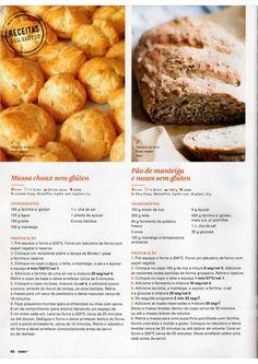 Revista Bimby Fevereiro 2015 Low Fodmap, Low Carb, Fodmap Breakfast, Pretzel Bites, Crepes, French Toast, Paleo, Gluten, Bread