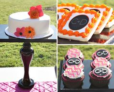 love this party and monograms