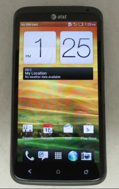 Unlocked HTC One X - 16GB -Grey AT&T -Fair Condition- Clean IMEI